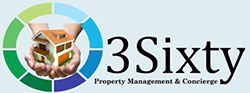 3 sixty property management logo