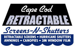 Cape Cod Retractable Screens and Shutters logo
